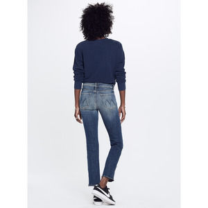 MOTHER The Rascal Ankle Zip Jeans 27 NWOT